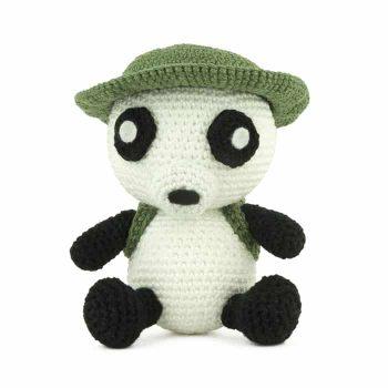 Patron au crochet Indiana Panda
