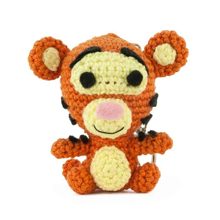 Patron au crochet Tigrou - Winnie l'Ourson