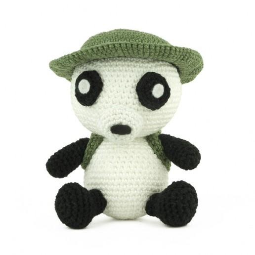Haakpatroon Indiana Panda