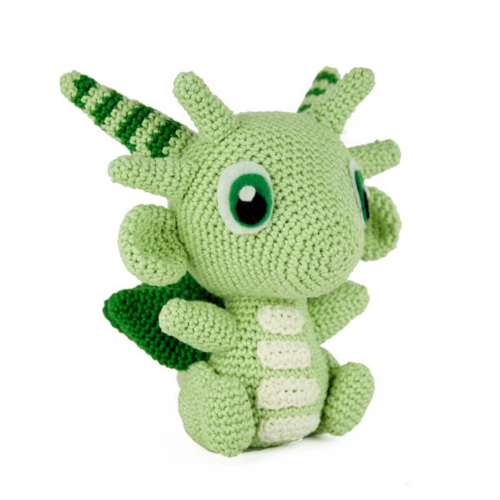Crochet pattern Green Dragon - Sabrinas Crochet