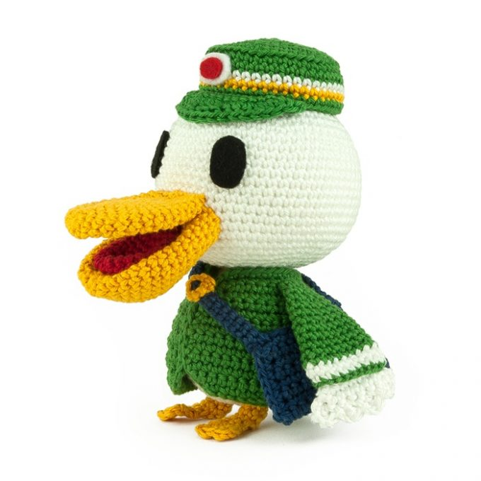 Hæklemønster Pete - Animal Crossing - Amigurumi