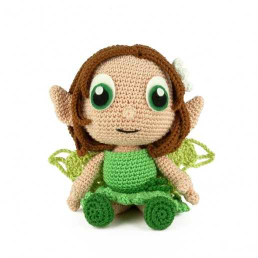 Haakpatroon Earth Fairy - Amigurumi