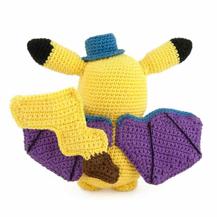 Crochet pattern Pikachu Halloween - Sabrina\'s Crochet