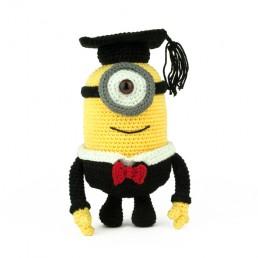 Hæklemønster Minion Graduate