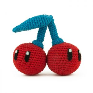 Crochet pattern Double Cherry