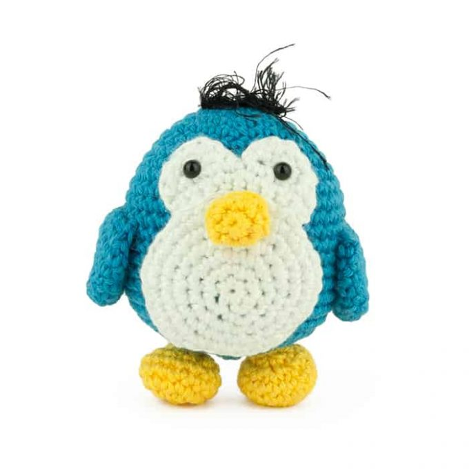 Hæklemønster Lille Pingvin