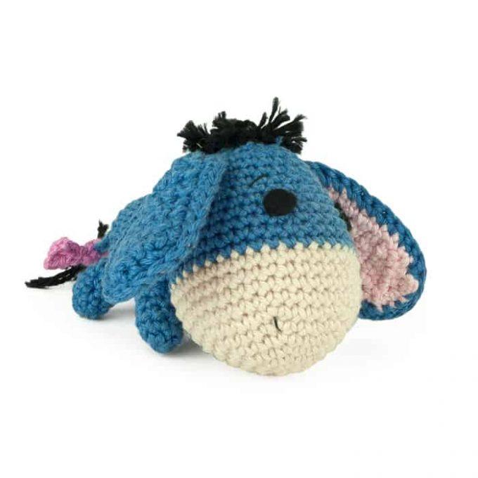 Patron au crochet Bourriquet - Winnie l'Ourson - Amigurumi