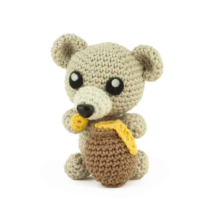 Häkelanleitung Honig Bär