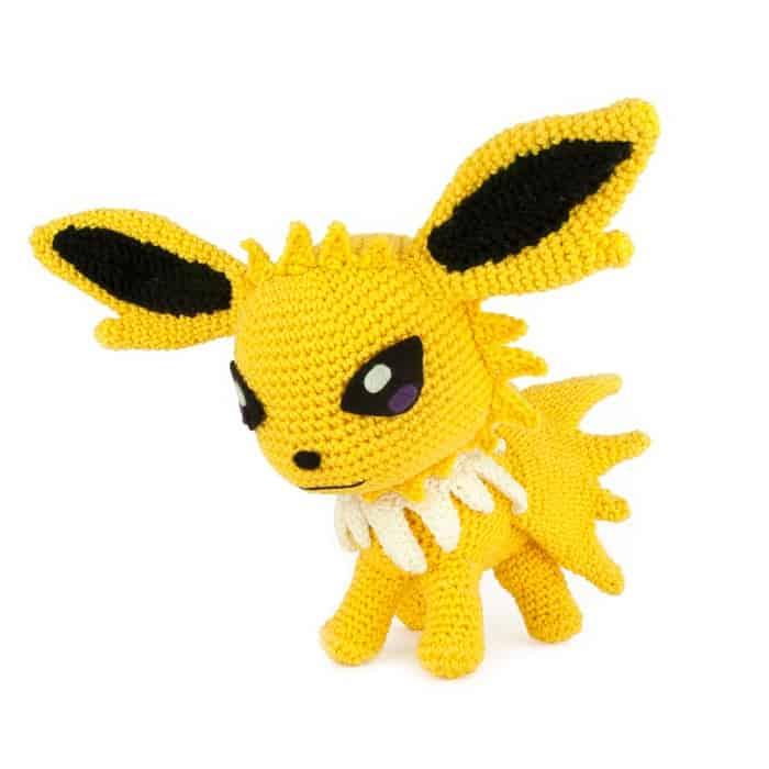 Haakpatroon Jolteon - Pokemon - Amigurumi