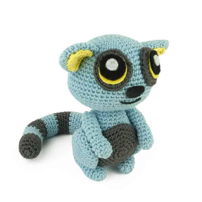 Crochet lemur pattern, Amigurumi lemur pattern, lemur crochet ... | 700x700