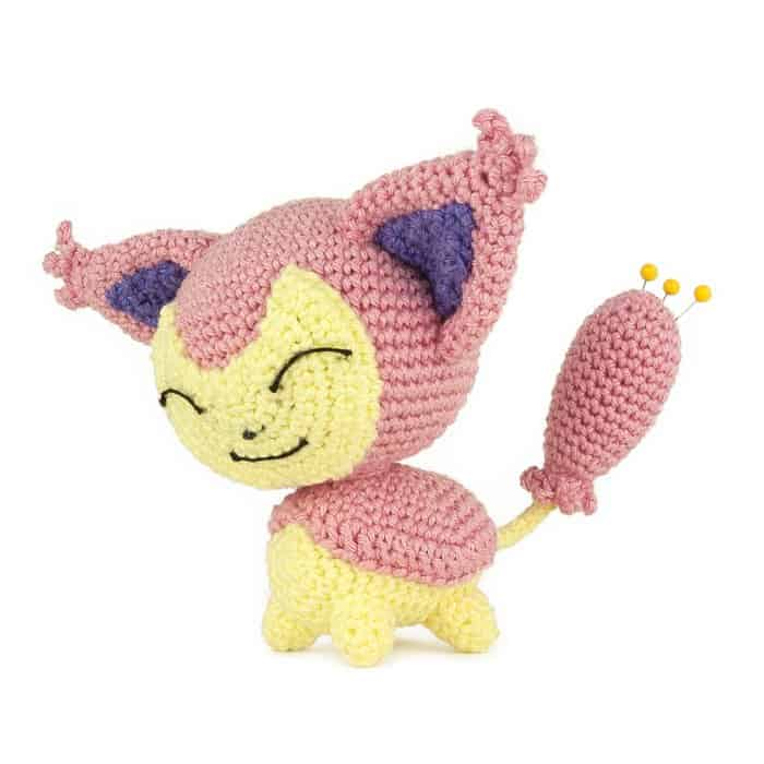 Patron au crochet Skitty - Pokemon - Amigurumi