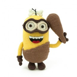 Crochet pattern Minion Caveman