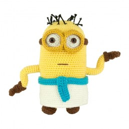 Crochet pattern Minion Egyptian