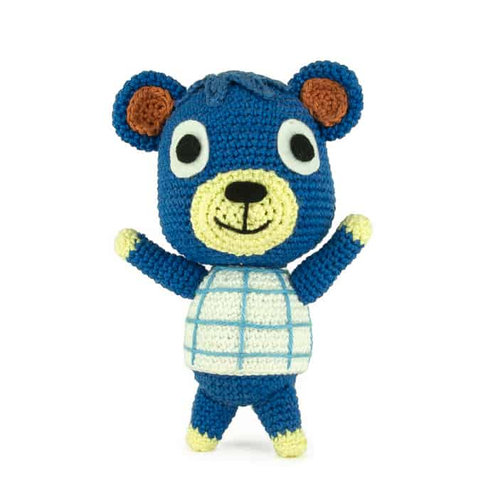 Haakpatroon Poncho - Amigurumi - Animal Crossing