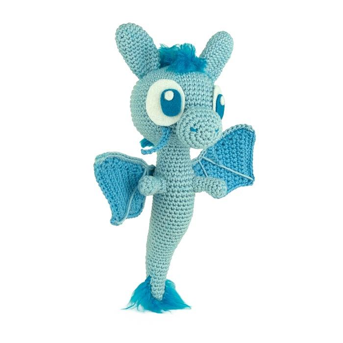 Patron au crochet Le Dragon Bleu - Sabrina\'s Crochet