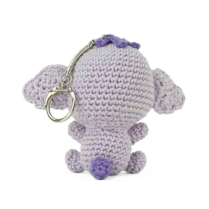 Hæklemønster Elefantdyr - Peter Plys