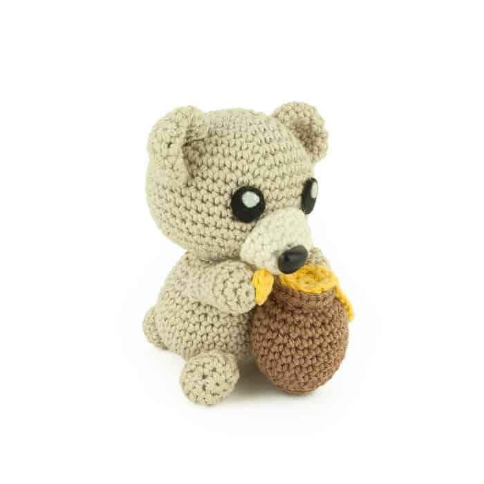 Hæklemønster Honey Bear