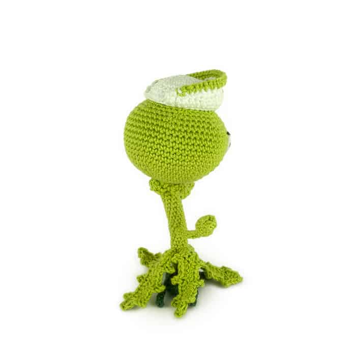 Hæklemønster Weeds - Plants vs Zombies - Amigurumi