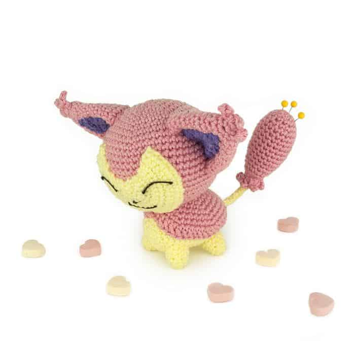 Patron au crochet Skitty - Sabrina\'s Crochet
