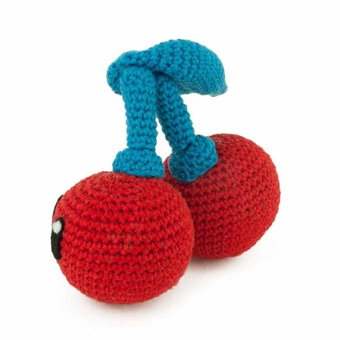 Patron au crochet Double Cerise - Amigurumi
