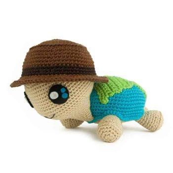 Crochet pattern Globetrottoise