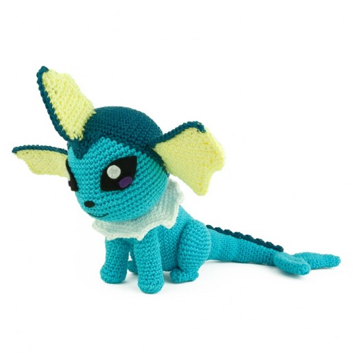 Crochet pattern Vaporeon - Pokemon