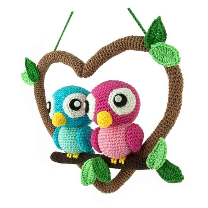 Crochet pattern Love Birds - Sabrina\'s Crochet