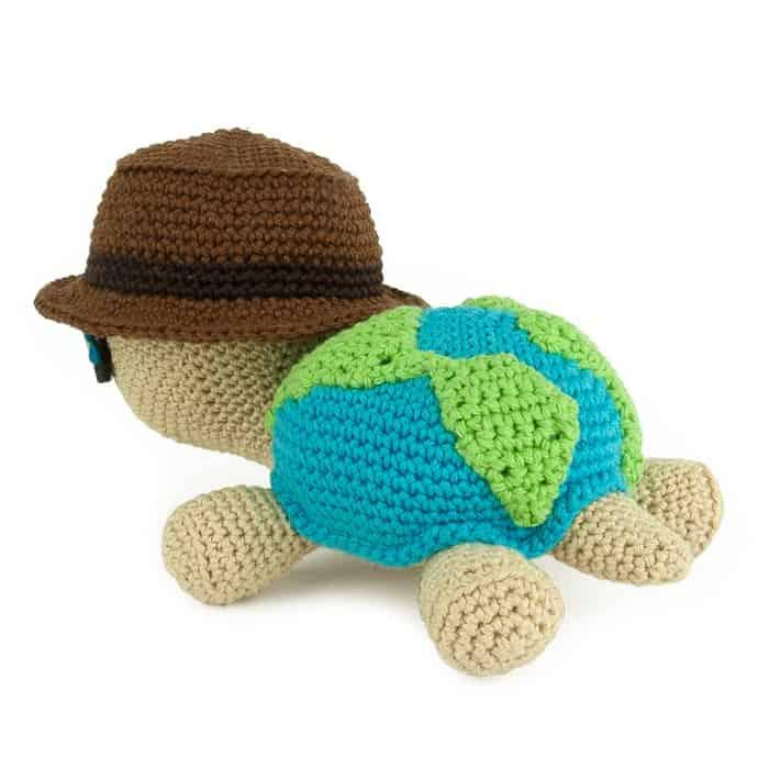 Patron au crochet Globetrottoise