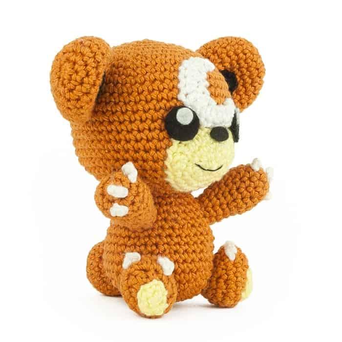 Crochet Pattern Teddiursa Sabrinas Crochet