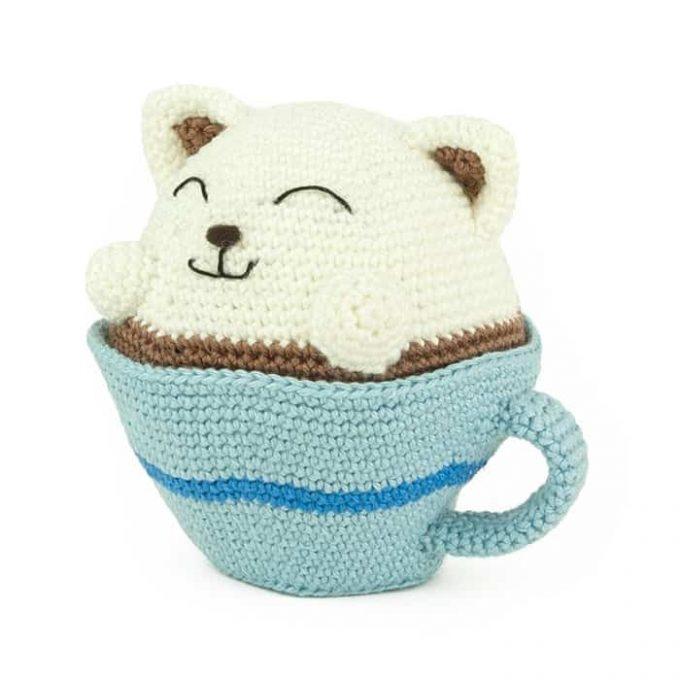 Haakpatroon Coffee Pets - Amigurumi