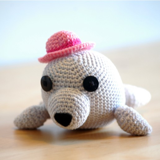 Häkelanleitung Seehund