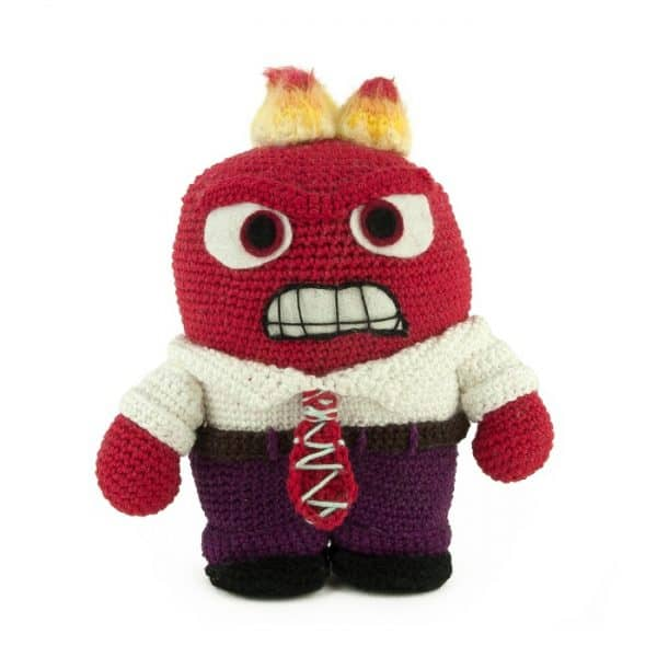 Crochet pattern Anger