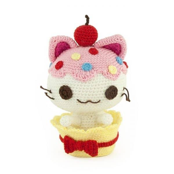 Crochet pattern Cupcat