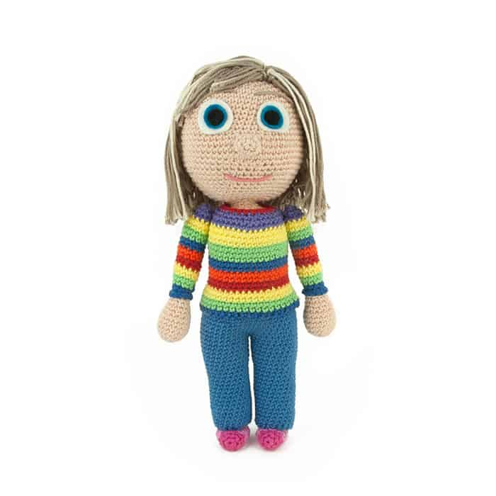 Haakpatroon Riley - Binnenstebuiten - Amigurumi
