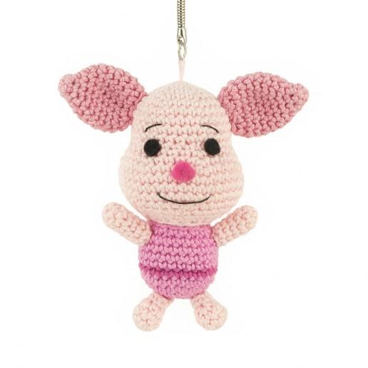 Patron au crochet Porcinet - Winnie l'Ourson - Amigurumi