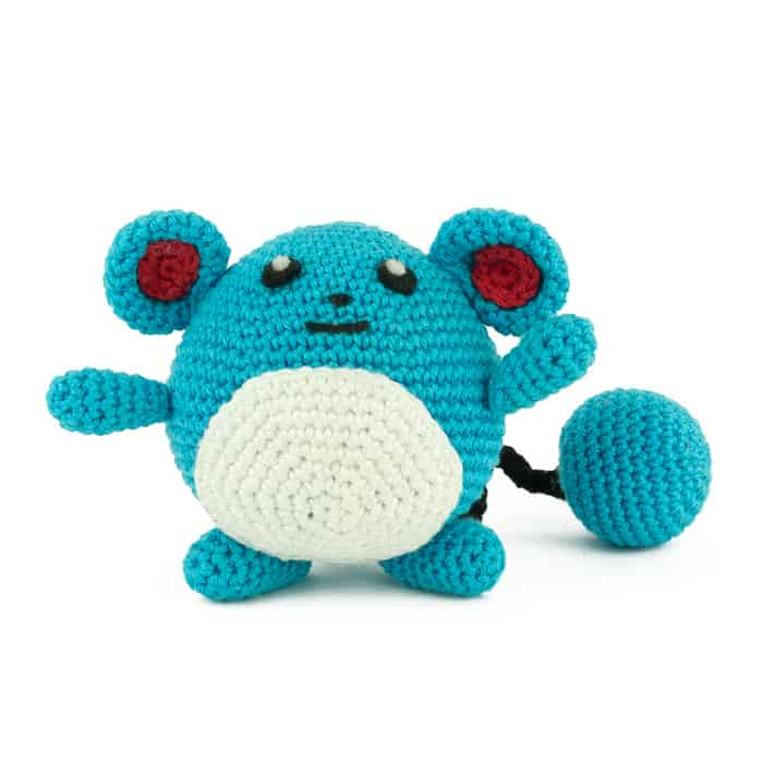 Patron au crochet Marill - Pokemon
