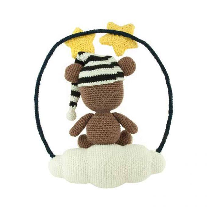 Häkelanleitung Schlafender Bär