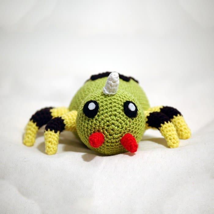 Crochet pattern Spinarak - Sabrina\'s Crochet