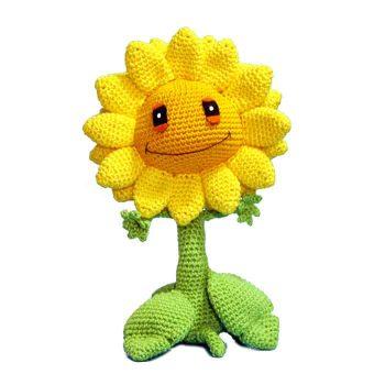Häkelanleitung Sonnenblume