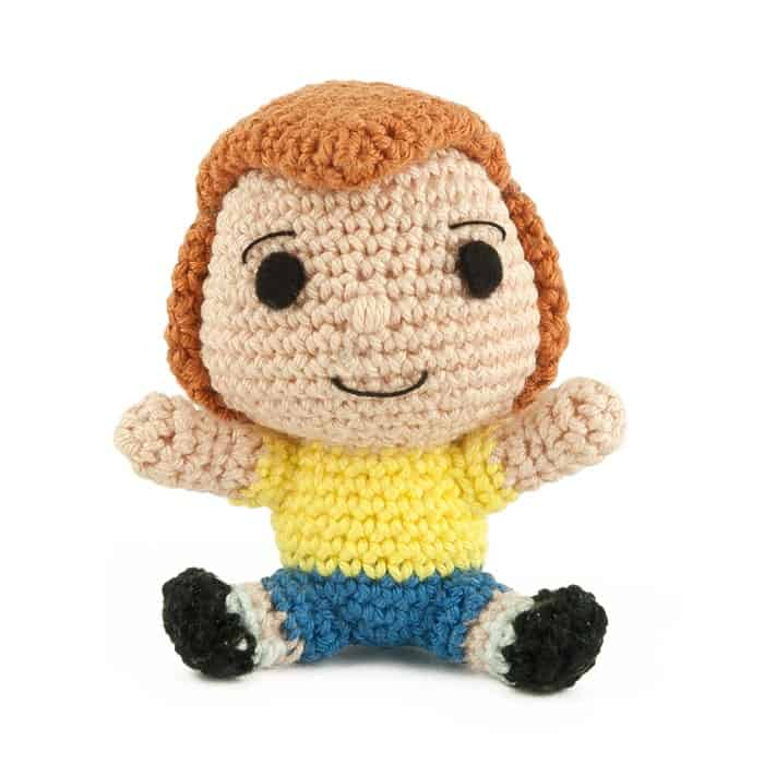 Patron au crochet Jean-Christophe - Winnie l'Ourson