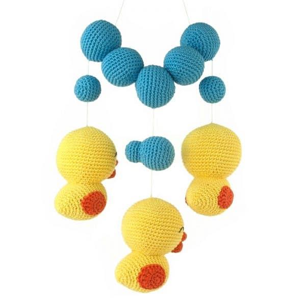 Crochet pattern Bubble Friends