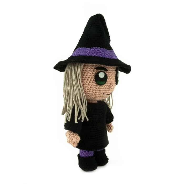 Häkelanleitung Hexe - Halloween
