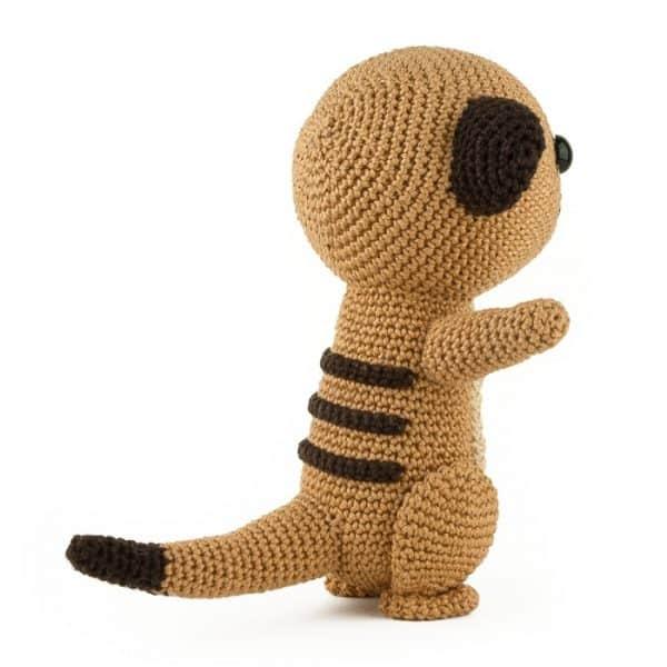 Crochet pattern Meerkat
