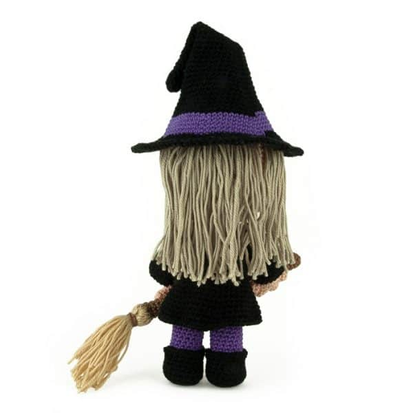 Crochet pattern Witch - Halloween