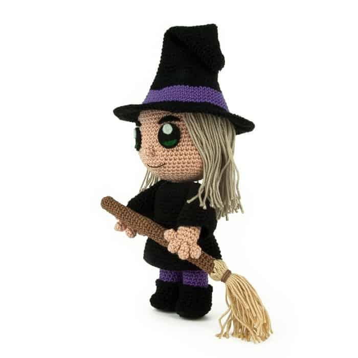 Hæklemønster Heks - Halloween