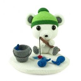 Crochet pattern Fisherbear - Amigurumi