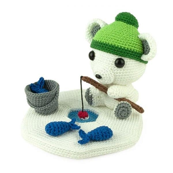 Crochet pattern Fisherbear