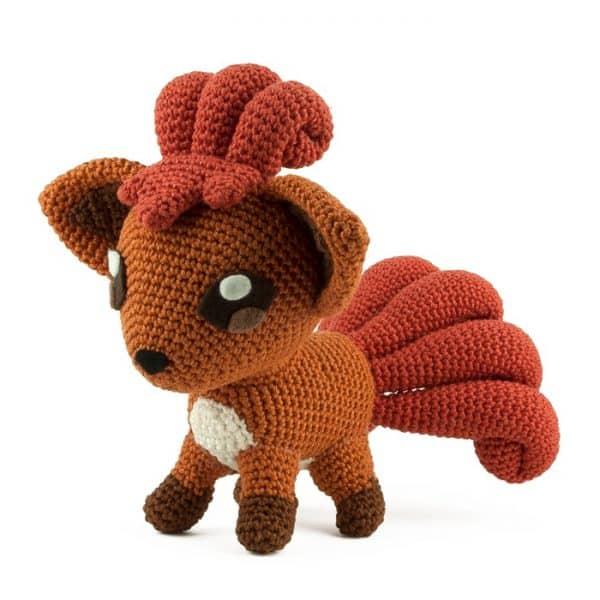 Crochet pattern Vulpix - Pokemon - Amgurumi