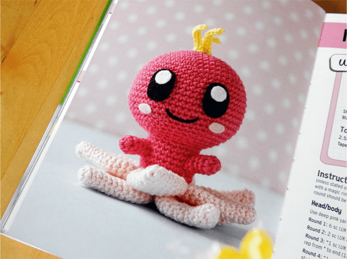 Rico Ricorumi Books for amigurumi characters | The Cheap Shop Tiptree | 518x692