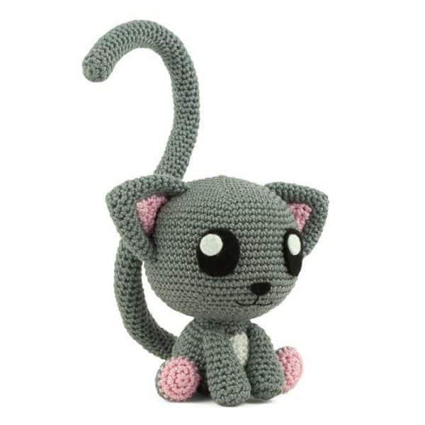 Crochet pattern Purrrfect Pair - Amigurumi
